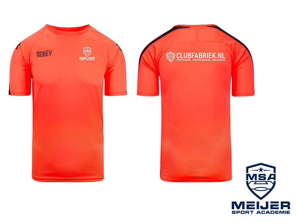 Trainingsshirt MSA Voetbaldag zomer 2021